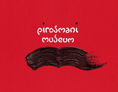 Pirosmani museum, logo & concept