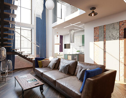 Duplex apartment Moscow, Russia