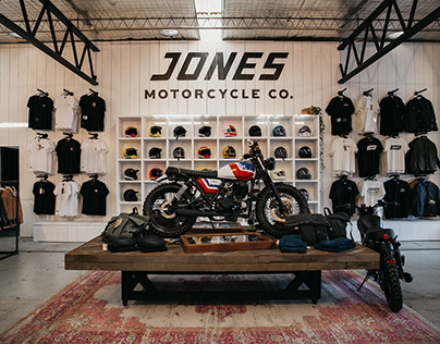Jones Motorcycle Co. Brand Identity