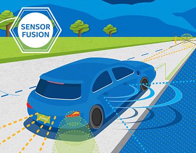 Autonomous Cars: Conference Demo Graphics