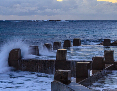 Rock Pools at Coogee Beach