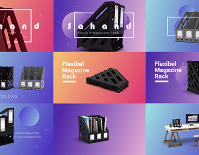 3D Motion Graphics for Sahand Co.