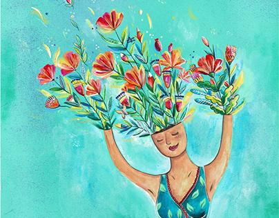 flowers in me