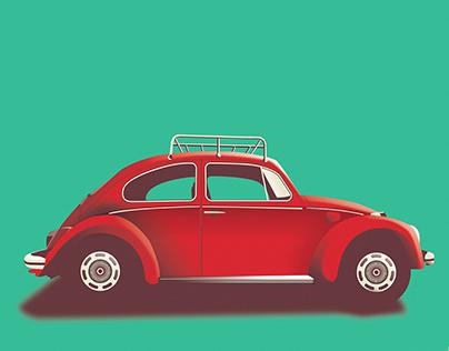 Vintage Car_illustration