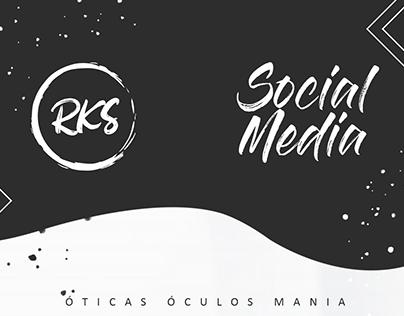 SOCIAL MEDIA - ÓTICAS ÓCULOS MANIA