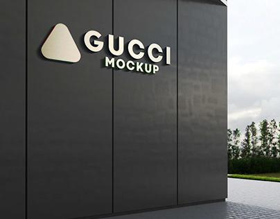 Free Gucci PSD Mockup