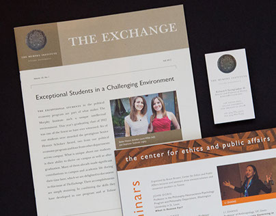 The Murphy Institute Marketing Materials & Website