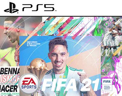 Cover Fifa 21 - Ismaël Bennacer