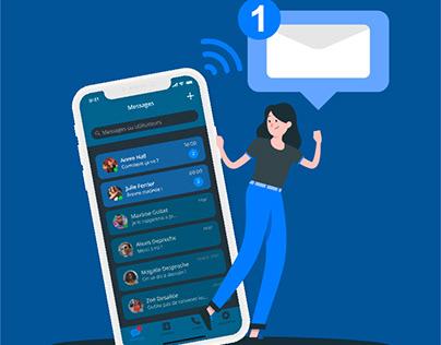 Telegram App - UX/UI Redesign
