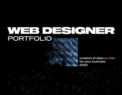 Web Designer Porfolio / Landing page