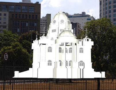 Palácio Monroe em R.A.