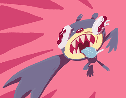 Bwaahhh! Attack GIF