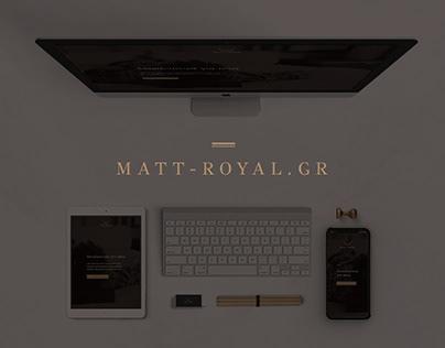 Matt Royal Website
