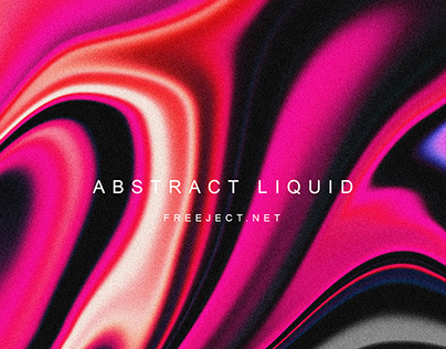 Free Colorful Abstract Liquid Background