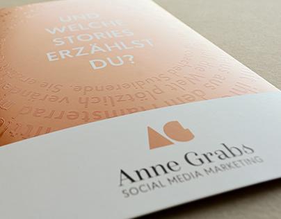 Postcard for AG – Anne Grabs – Social Media Marketing