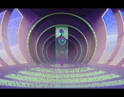 The Intergalactic Tyrant - visual development