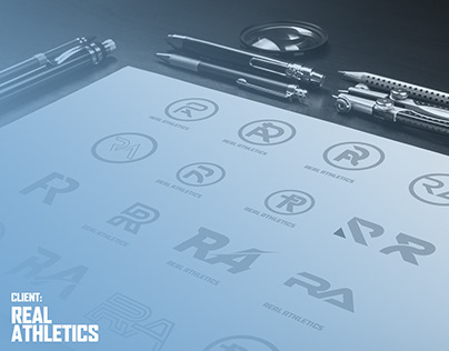 Real Athletics – Logo Design