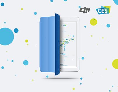 DJI at CES 2016 website