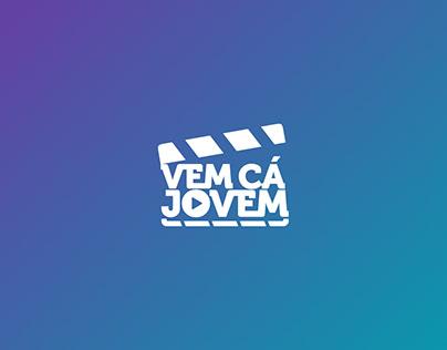 """Visual identity of the program """" Vem cá jovem"""""""
