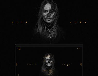The personal site of the opera singer Alex Luna
