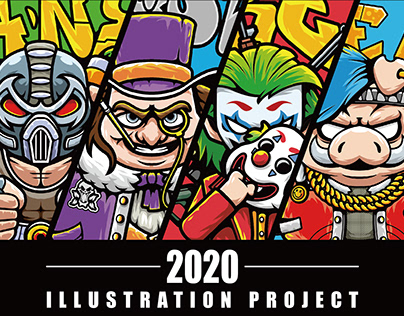 Lexkon Liu's Illustrated Portfolio 2020