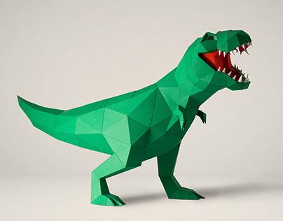 T-Rex | Papercraft DIY
