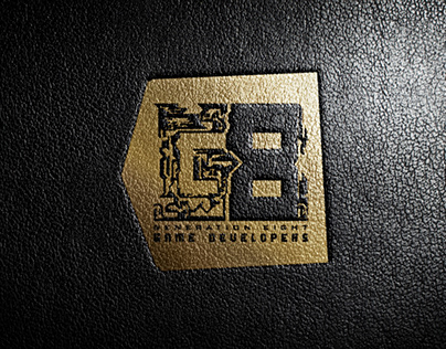"""G8 Game Developers """"Genration Eight"""" Logo Creative"""