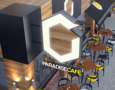 Paradise Cafe Shopfront Design