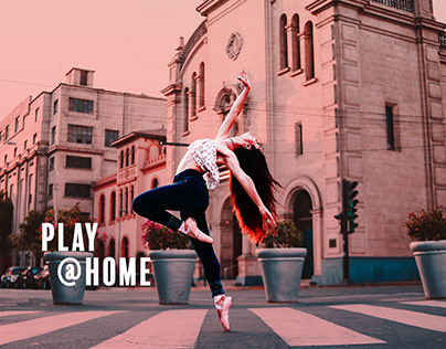Play @ home - Behance challenges