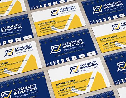 AJ Property Inspections branding & website