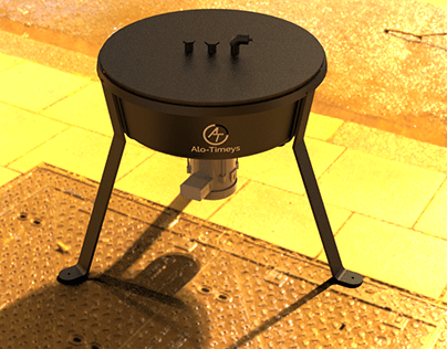 3D model of Centrifuge with different environments.