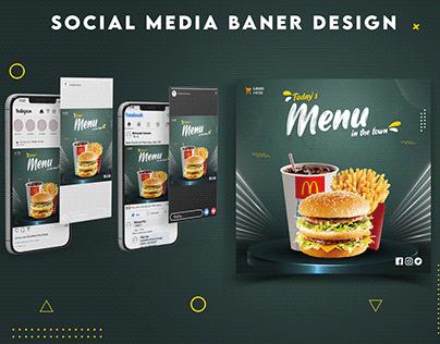 Social media banner design   Ads poster  