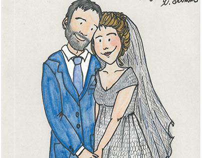 Tableau mariage Ele