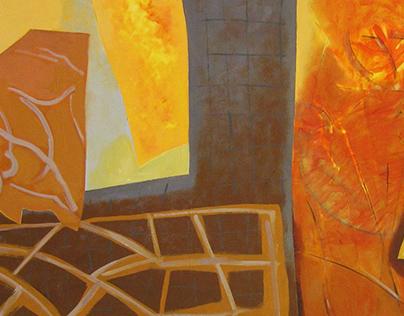 Festmények III. - Paintings III - (non-figurative)