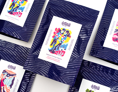 Torrefacto Cocoa Packaging Illustration
