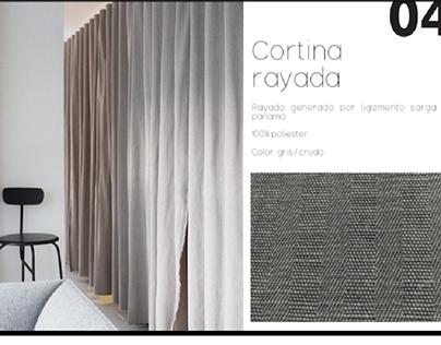 Propuestas de diseño para fabrica de tejido plano