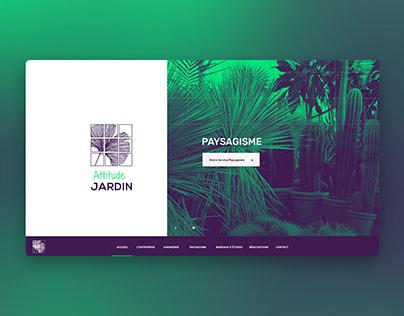Attitude Jardin — Website