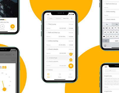 Remindr - A Time Planner App UX Case Study