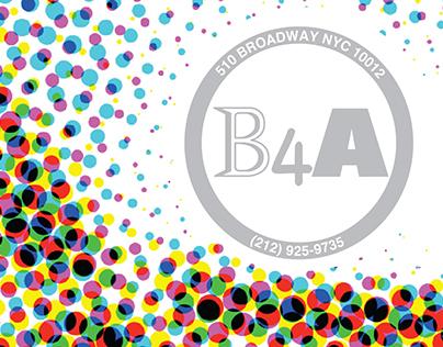 B4A Gallery | Logo & Identity
