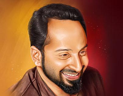 Fahad Faasil | Portrait Digital Painting