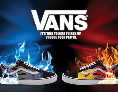 Vans Shoe Poster- Project 04
