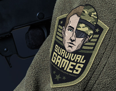Survival Games Logo Design
