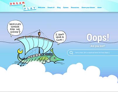 A Fun 404 Page