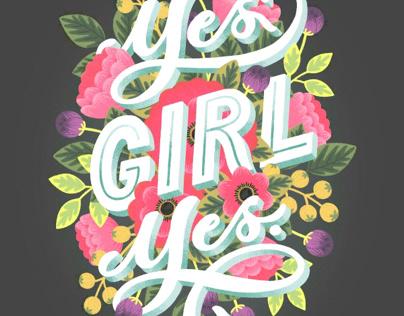 Yes girl, yes.