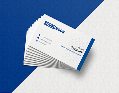 Business card for Weldbook