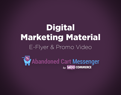 E-Flyer & Promo Video for Woocommerce Plugin