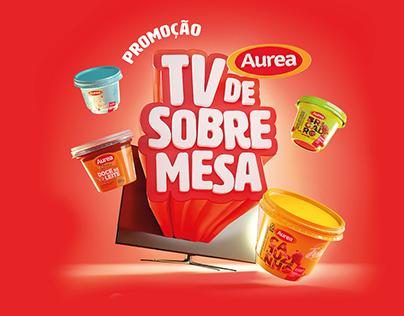 Aurea Alimentos - Promoção TV de Sobremesa