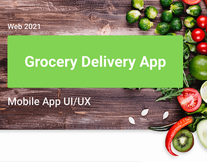 Grocery delivery mobile app