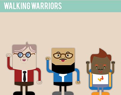 Walking warriors