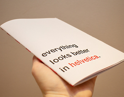 Typographical Zine - Helvetica